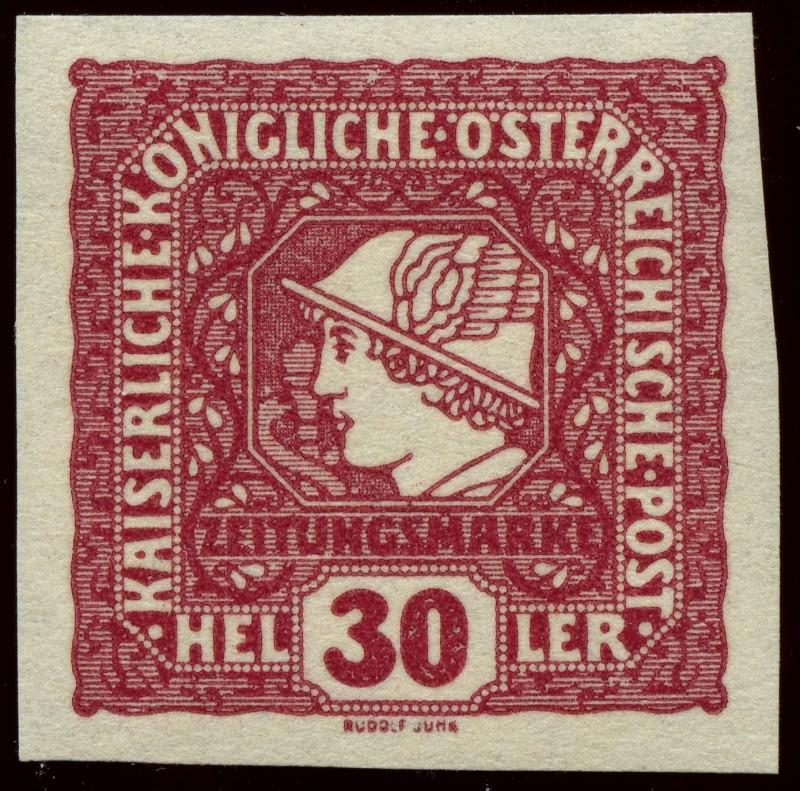 DIE ZEITUNGSMARKEN AUSGABE 1916 Ank_2114