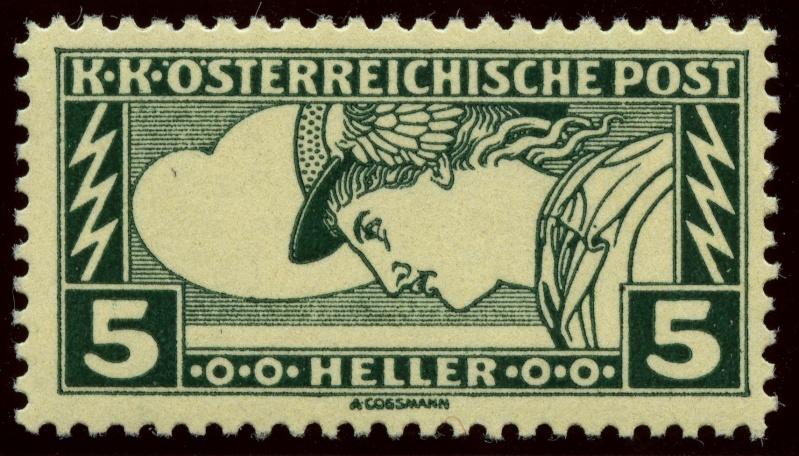 Eilmarken-Ausgaben 1916 / 1917 Ank_2210