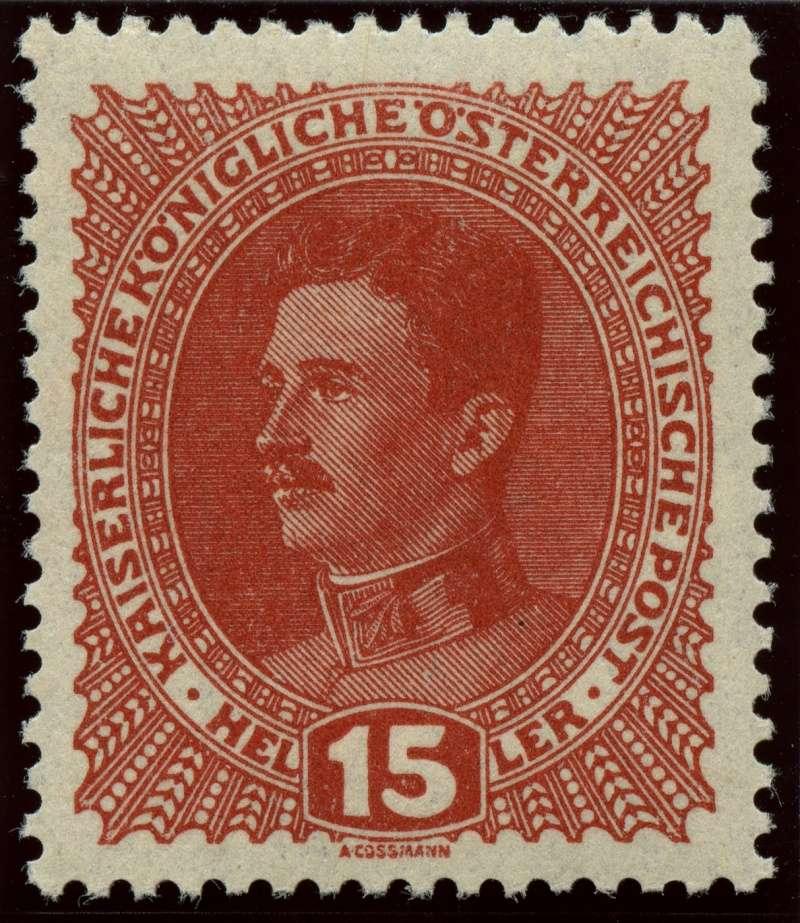 Die Freimarkenausgabe 1917/18  Ank_2211