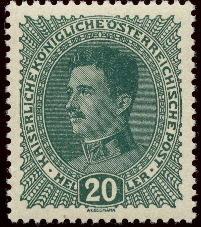 Die Freimarkenausgabe 1917/18  Ank_2213