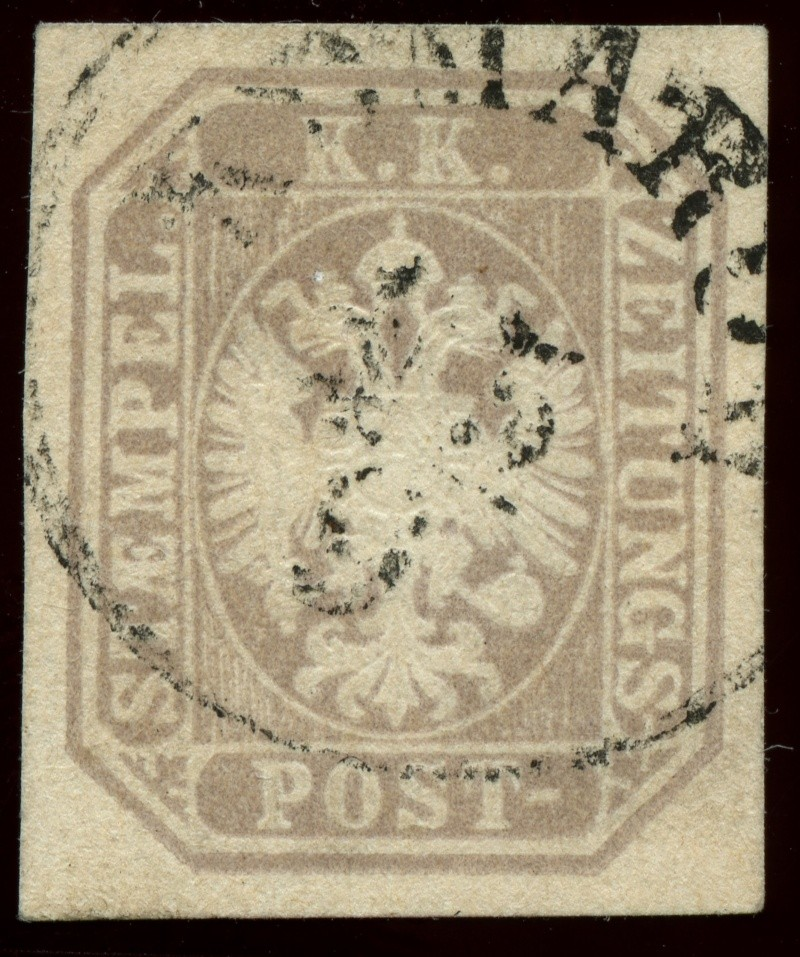 DIE ZEITUNGSMARKEN AUSGABE 1863 Ank_2910