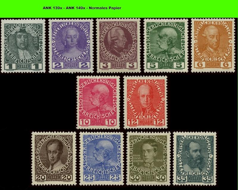 Die Freimarkenausgabe 1908 Komple12