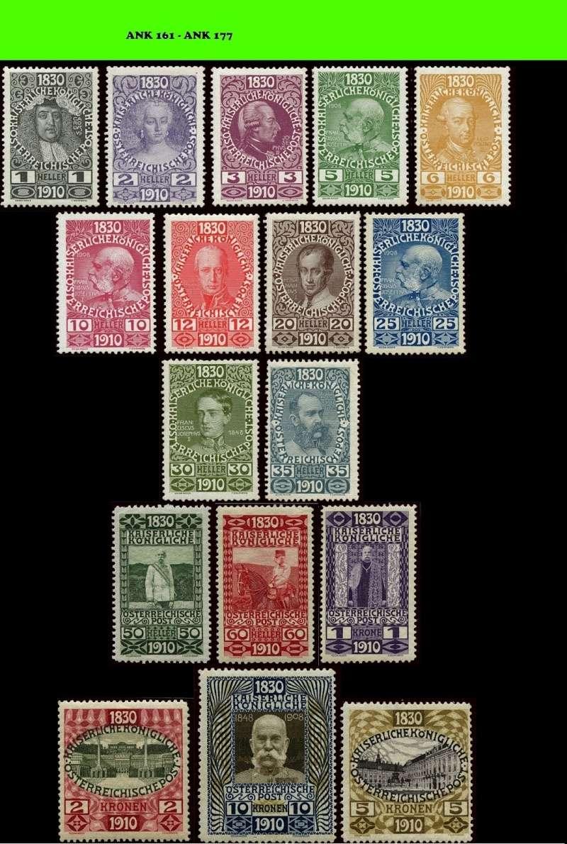 Die Freimarken-Gedenkausgabe 1910 Komple13
