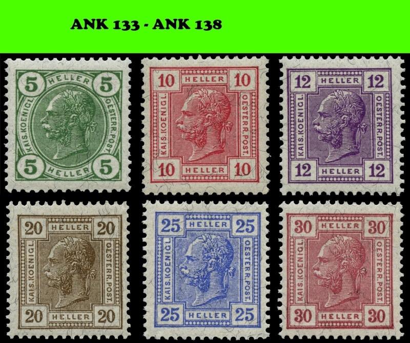 Die Freimarkenausgabe 1906/1907 Komple15
