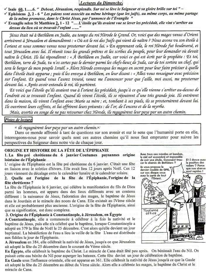 Trait d'Union du 3 janvier 2016 Tu160111
