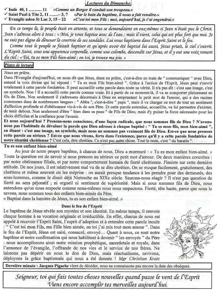 Trait d'Union du 10 janvier 2016 Tu160113