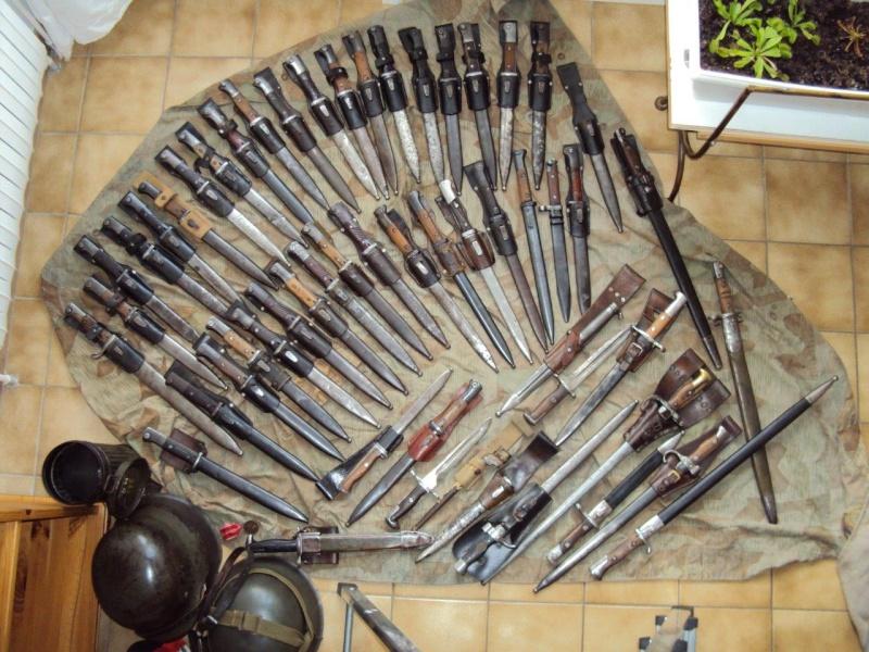 Collection de baionnettes principalement allemandes - une cinquantaine 2015_119