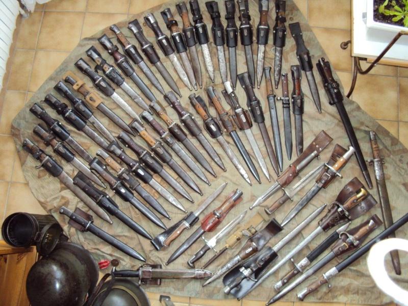 Collection de baionnettes principalement allemandes - une cinquantaine 2015_120