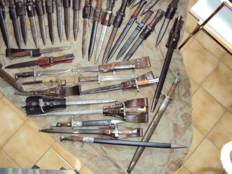 Collection de baionnettes principalement allemandes - une cinquantaine 2015_124