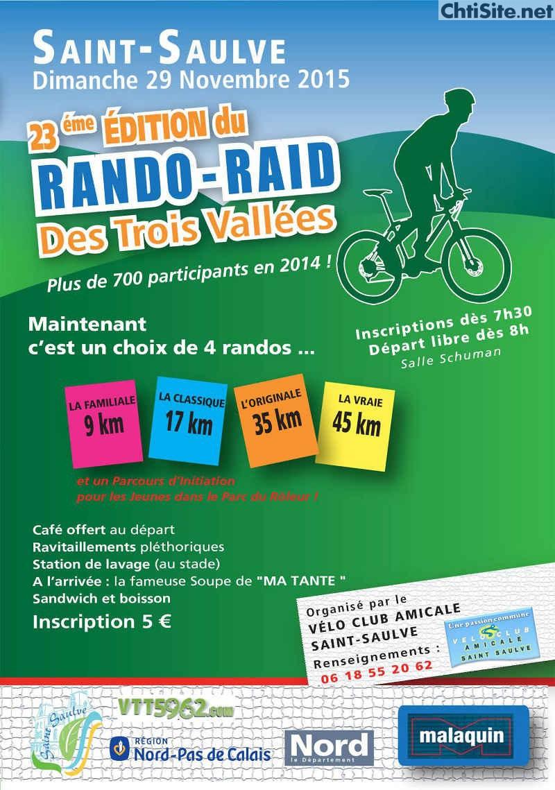 23ième Rando-Raid des 3 vallées à Saint-Saulve ( 59 ) 23iyme10