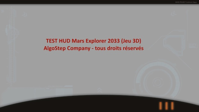 [JEU VIDEO 3D] Mars Explorer - 2033 00010