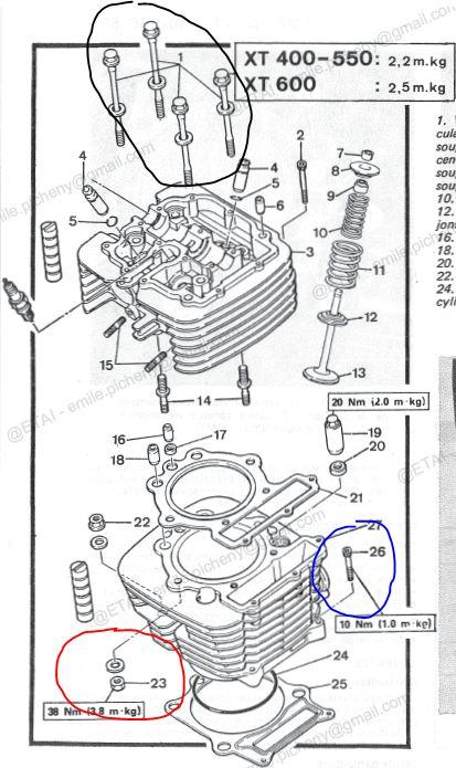 [Restauration] Yamaha 600XT (2KF) 1987 - Page 10 Captur13