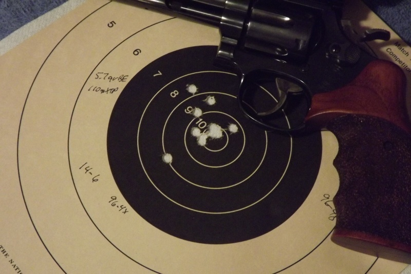 Best Bullseye Bullet for SW M586 Barrel Dscf0312
