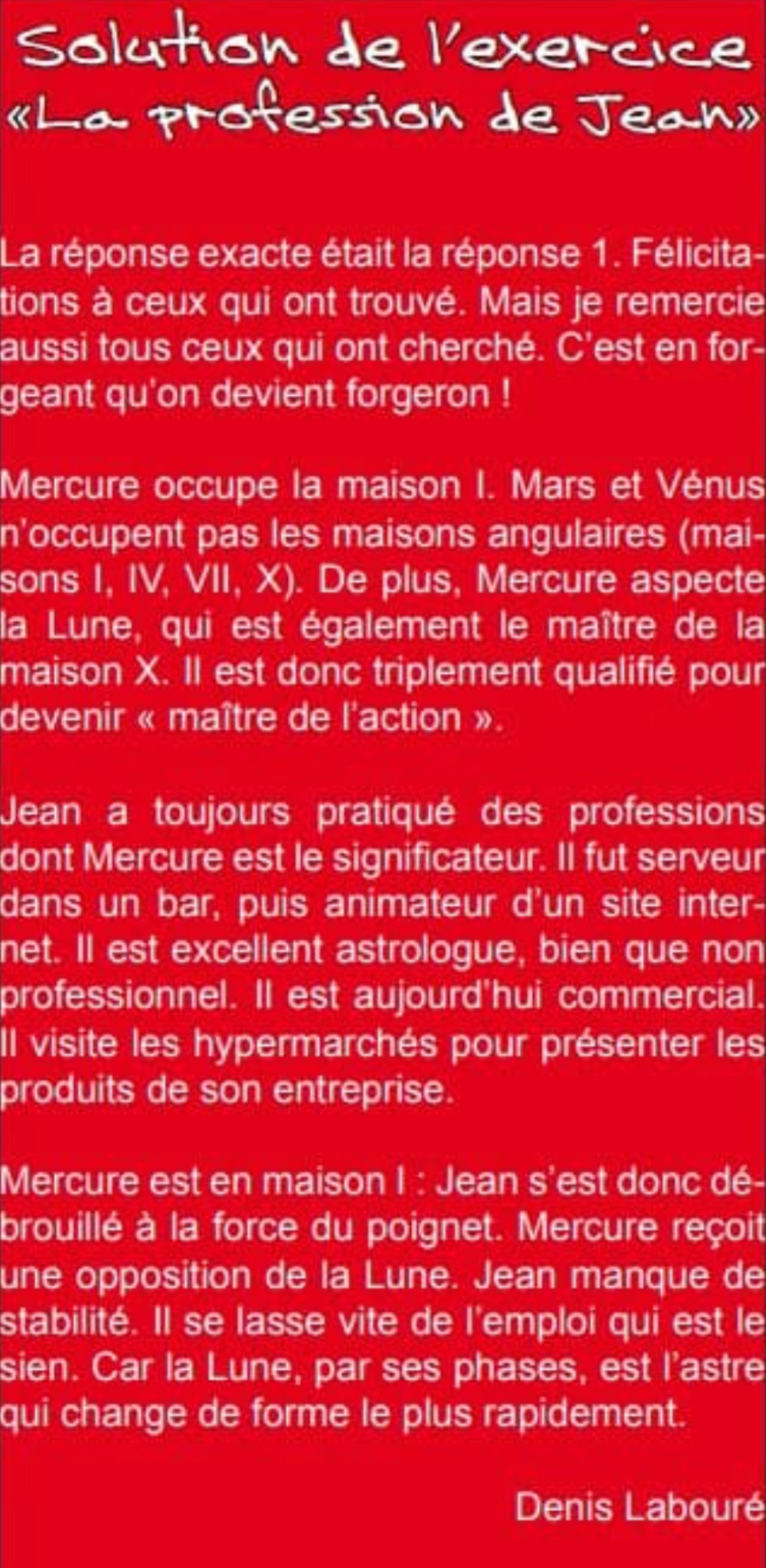 La profession de Jean Screen14