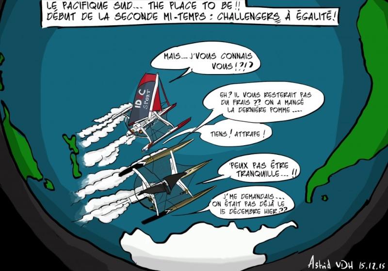 Francis Joyon autour  du monde ........en équipage - Page 4 Pacifi10