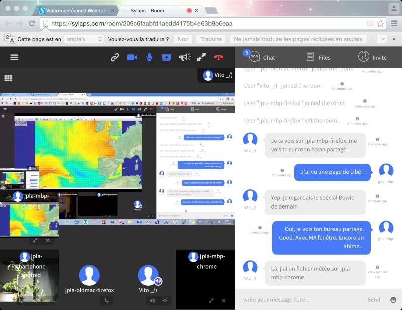 Vidéo-conférence Weather 4D avec le forum Sillages et l'AvRM Vitojp10