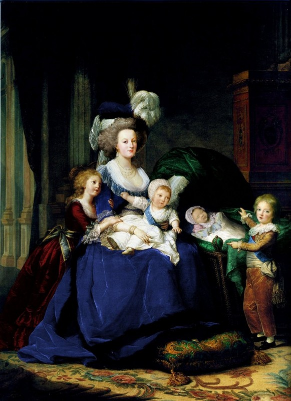 Portrait Marie Antoinette et ses enfants par Elisabeth Louise Vigée Lebrun 66588510