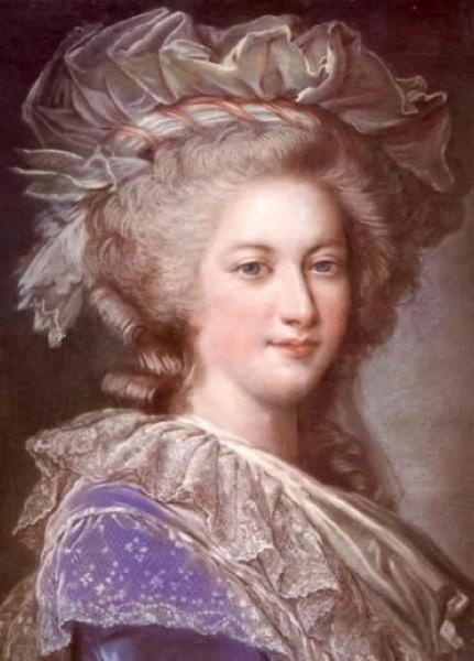 Le premier portrait de Marie Antoinette peint par Vigée Lebrun? C690b610