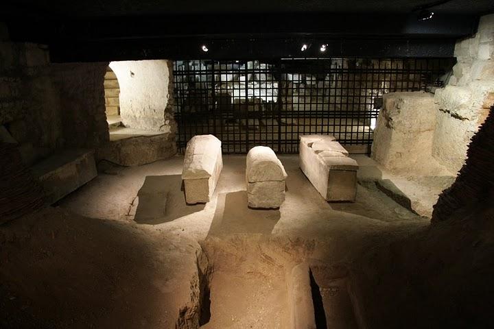 la basilique Saint Denis Crypte10