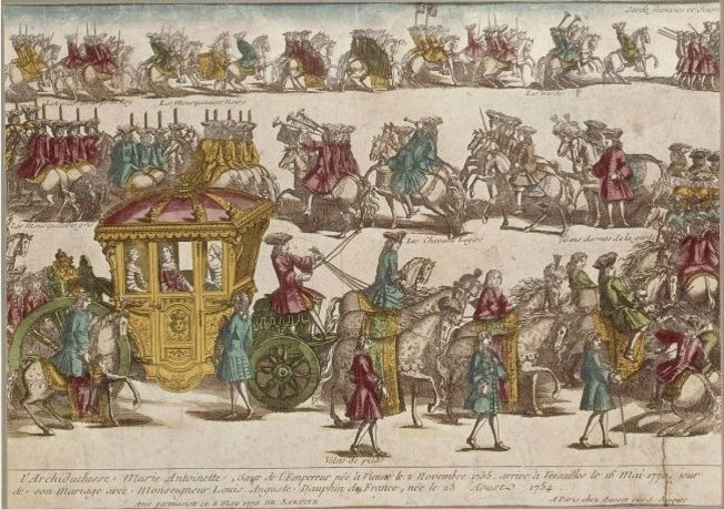 16 mai 1770: L'arrivée de Marie-Antoinette à Versailles Zkaro10
