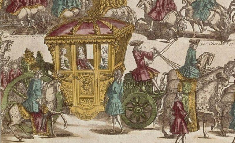 16 mai 1770: L'arrivée de Marie-Antoinette à Versailles Zkaro11