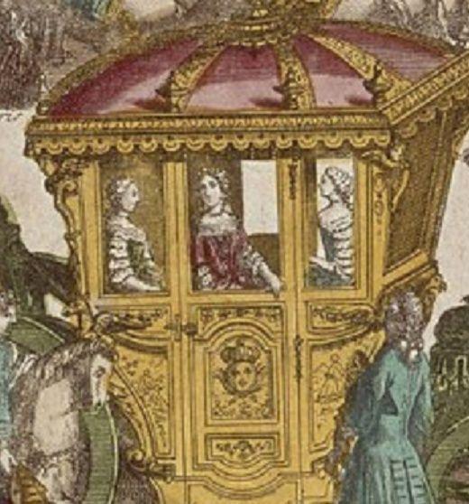 16 mai 1770: L'arrivée de Marie-Antoinette à Versailles Zkaro12