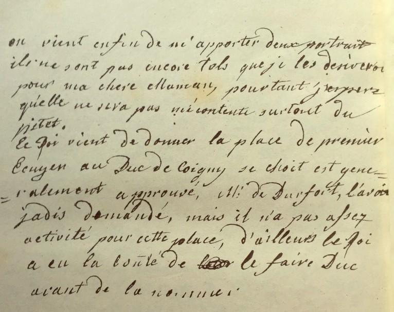 Correspondance entre Marie-Antoinette et sa mère  Zztri19
