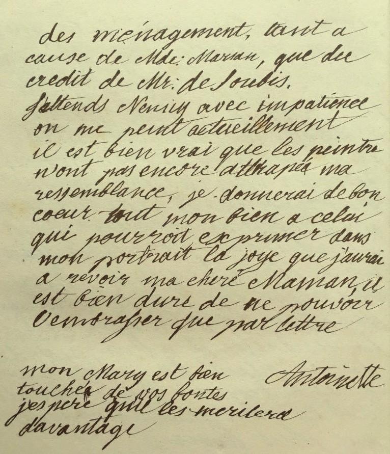 Correspondance entre Marie-Antoinette et sa mère  Zzzle16