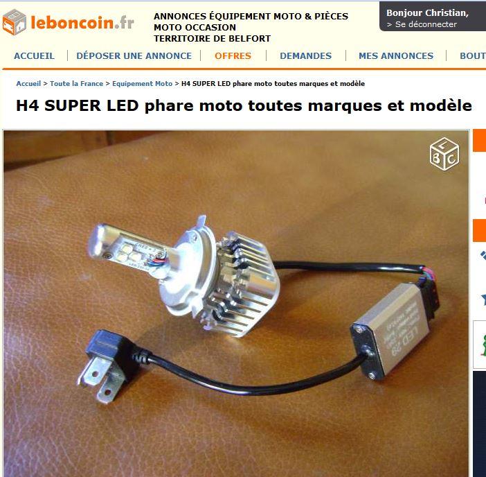 AMPOULE H4 LED H4_led10