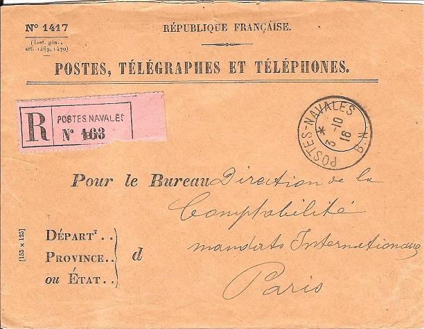 Bureau Central de Postes Navales de Marseille Bn_00110