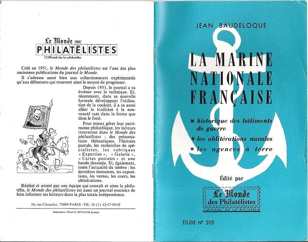 fascicule La Marine Nationale Française  Page1_10