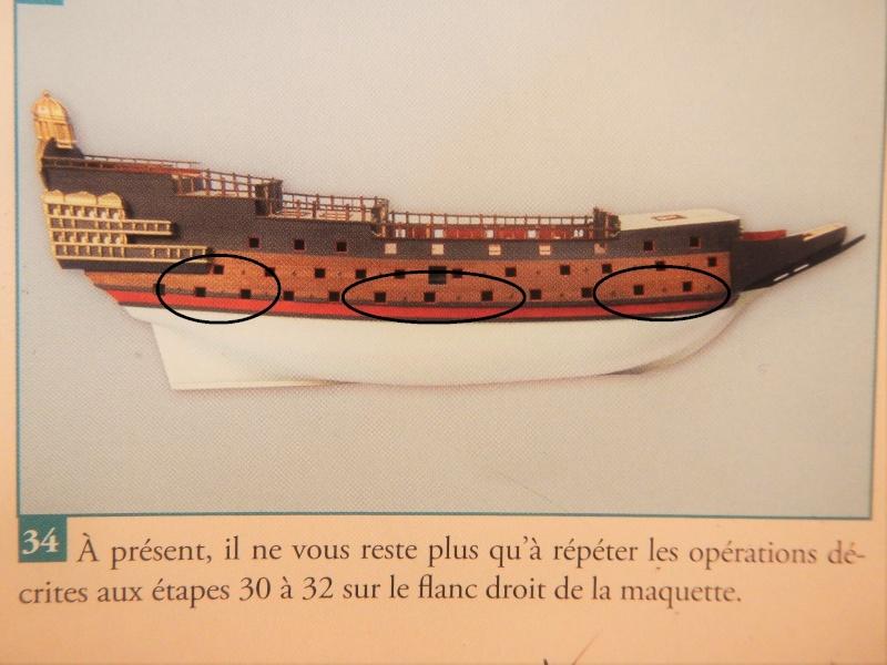 """Construction du """"Sovereign of the Seas"""" (SotS) au 1/84 (Partie 2)  - Page 5 Dscn3148"""