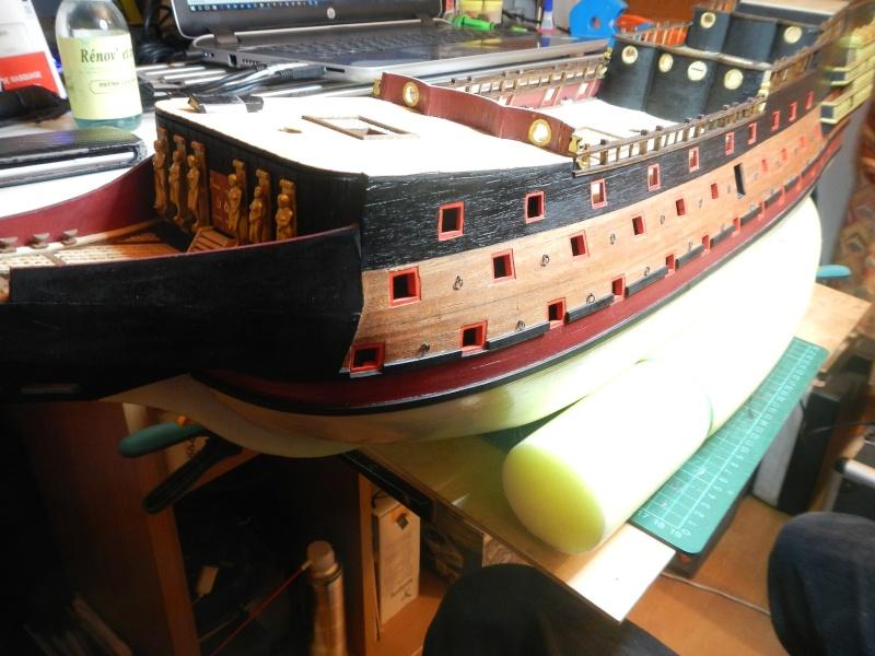 """Construction du """"Sovereign of the Seas"""" (SotS) au 1/84 (Partie 2)  - Page 5 Dscn3158"""
