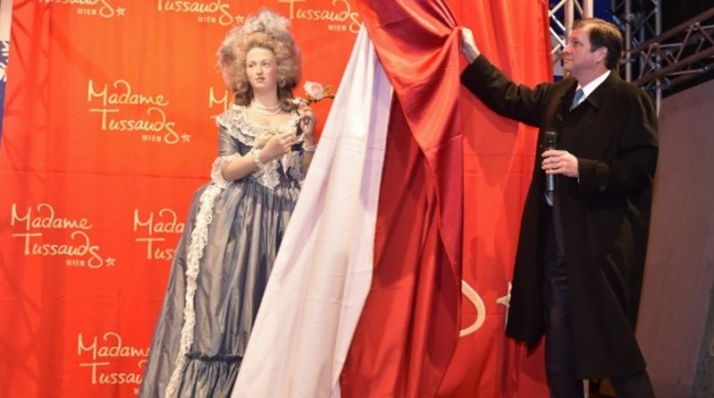 Wien Marie Antoinette als Wachsfigur Zzz10