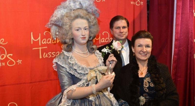 Wien Marie Antoinette als Wachsfigur Zzz11