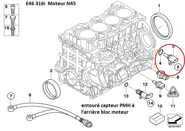 bmw e46 316i ess an 2004   probl u00e8me coupure moteur