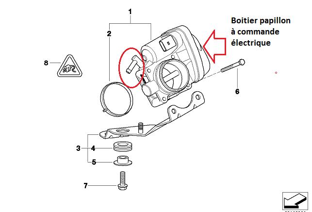 [ Mini R53 Cooper S an 2004 ] Localisation Durite aspiration boîtier papillon (résolu) 13_boi10