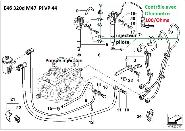 [ BMW E46 320D M47 an 1998 ] tester et changer l'injecteur pilote (Résolu ) 13_m4711