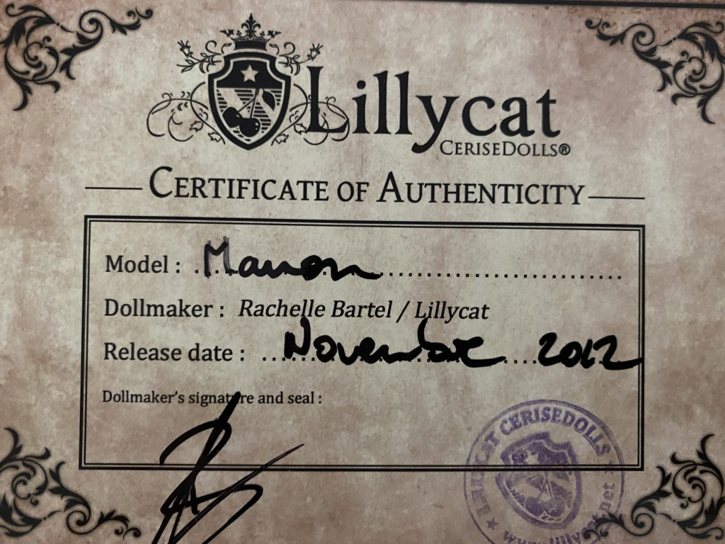 [Vends]Lillycat Manon / Dollchateau Bella Img_1912