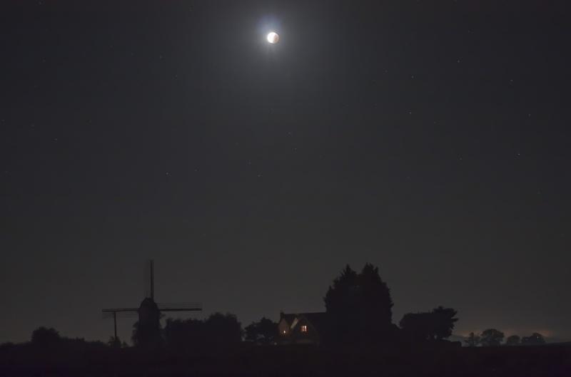 éclipse lunaire  Bassin22