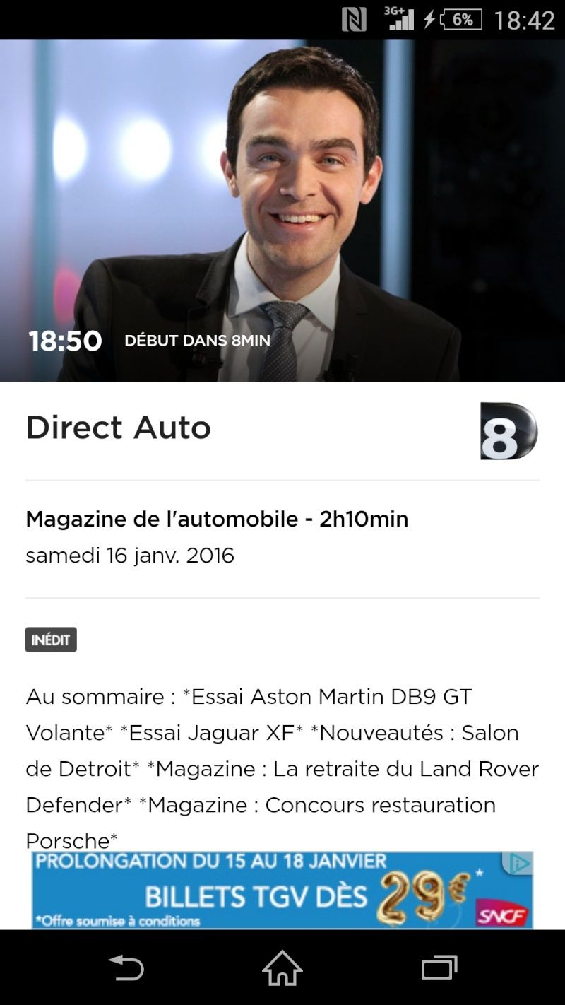 Direct auto D8 Screen12