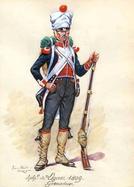 Grenadier 15e régiment Infanterie de la ligne Espagne 1807 MM 54m (modifications)  - Page 18 44e_de10