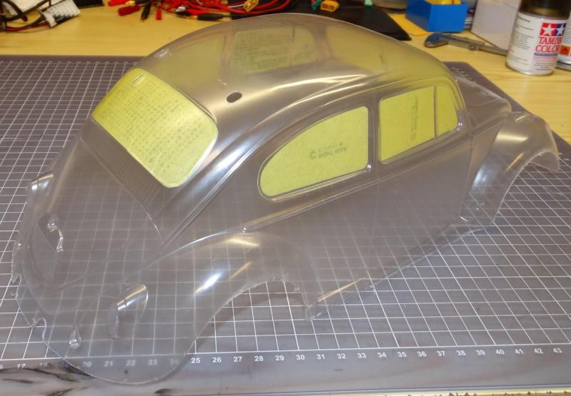 VW Käfer mit M-06 Chassis  von Tamiya Dsc02037