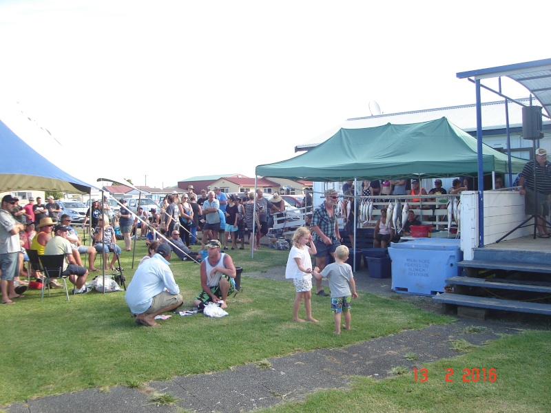 The annual Kaipara Cruising (and fishing) Club's fishing competition Dsc02926
