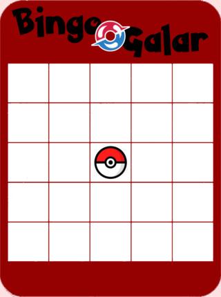[Bingo] GalarDex Bingog10