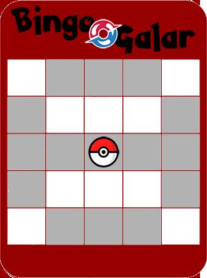 [Bingo] GalarDex Bingog11