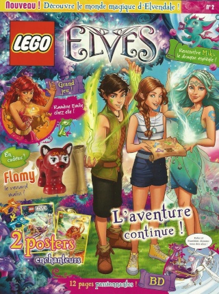 Le magazine trimestriel LEGO Elves Scan0013
