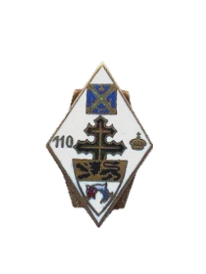 enfin l insigne de mon regiment 110 RI 1_er_i10