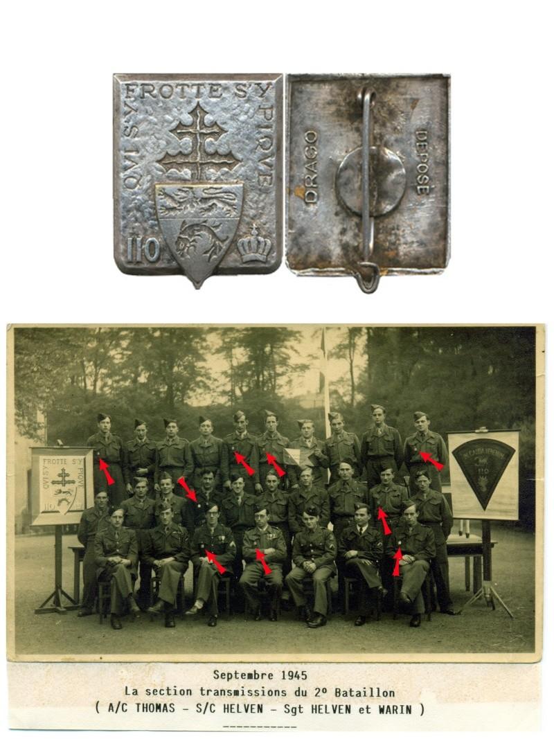 enfin l insigne de mon regiment 110 RI L_eccu10