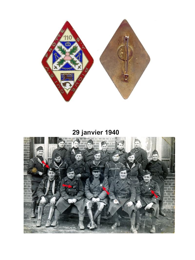 enfin l insigne de mon regiment 110 RI Le_los10